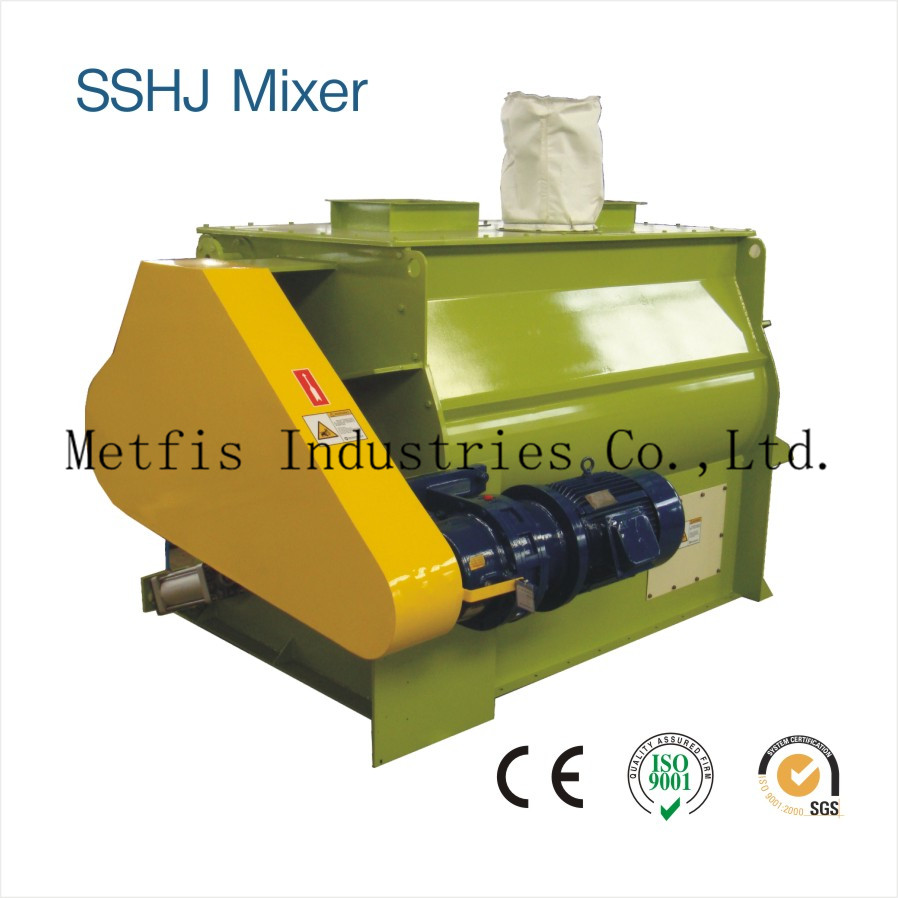 SSHJ1 Double Shaft Paddle Mixer