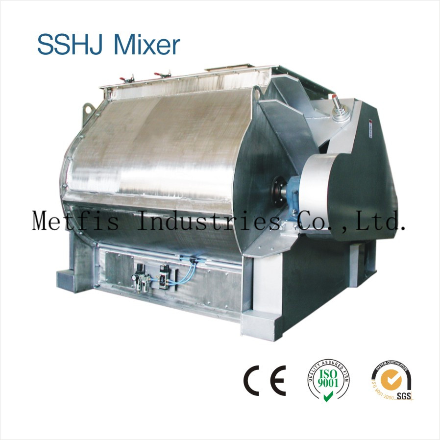 SSHJ2  Double Shaft Paddle Mixer