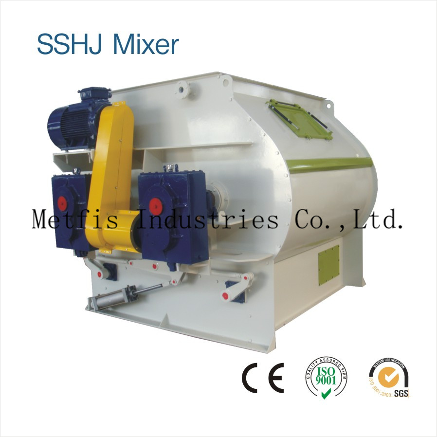 SSHJ4  Double Shaft Paddle Mixer